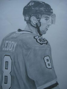 My Nick Leddy sketch:  STEAL THIS AND DIE.